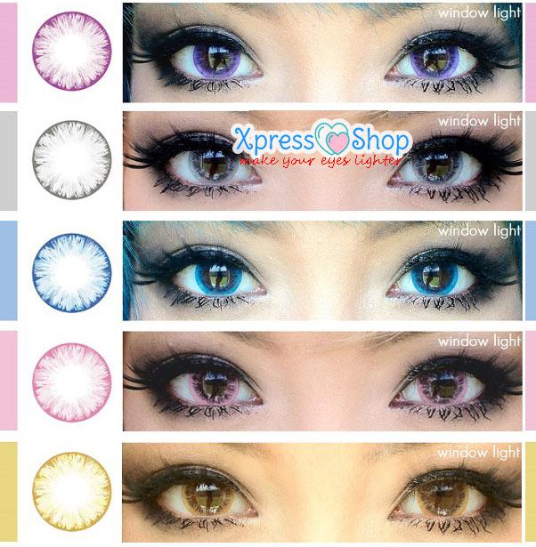 Цветные линзы для глаз белгород