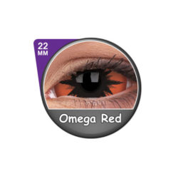 ColourVUE ® 22mm Sclera Lens Omega Red