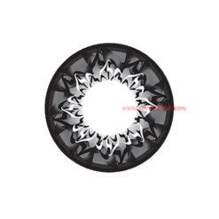 GEO Cafe Mimi Cappuccino Grey Color Lenses