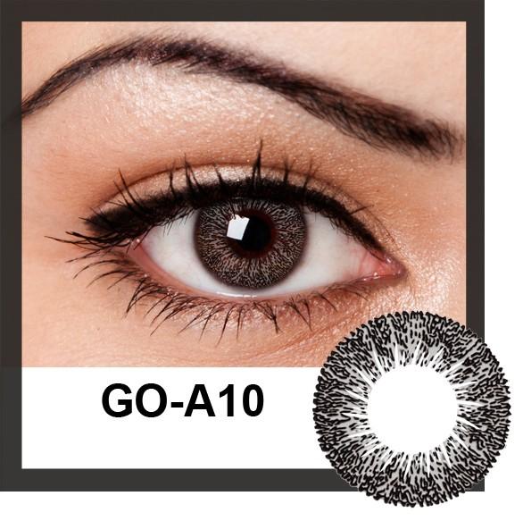 geolica174 euro circle natural black color lenses